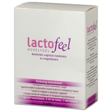 LACTOFEEL 7x5 ml hüvelygél 7 db